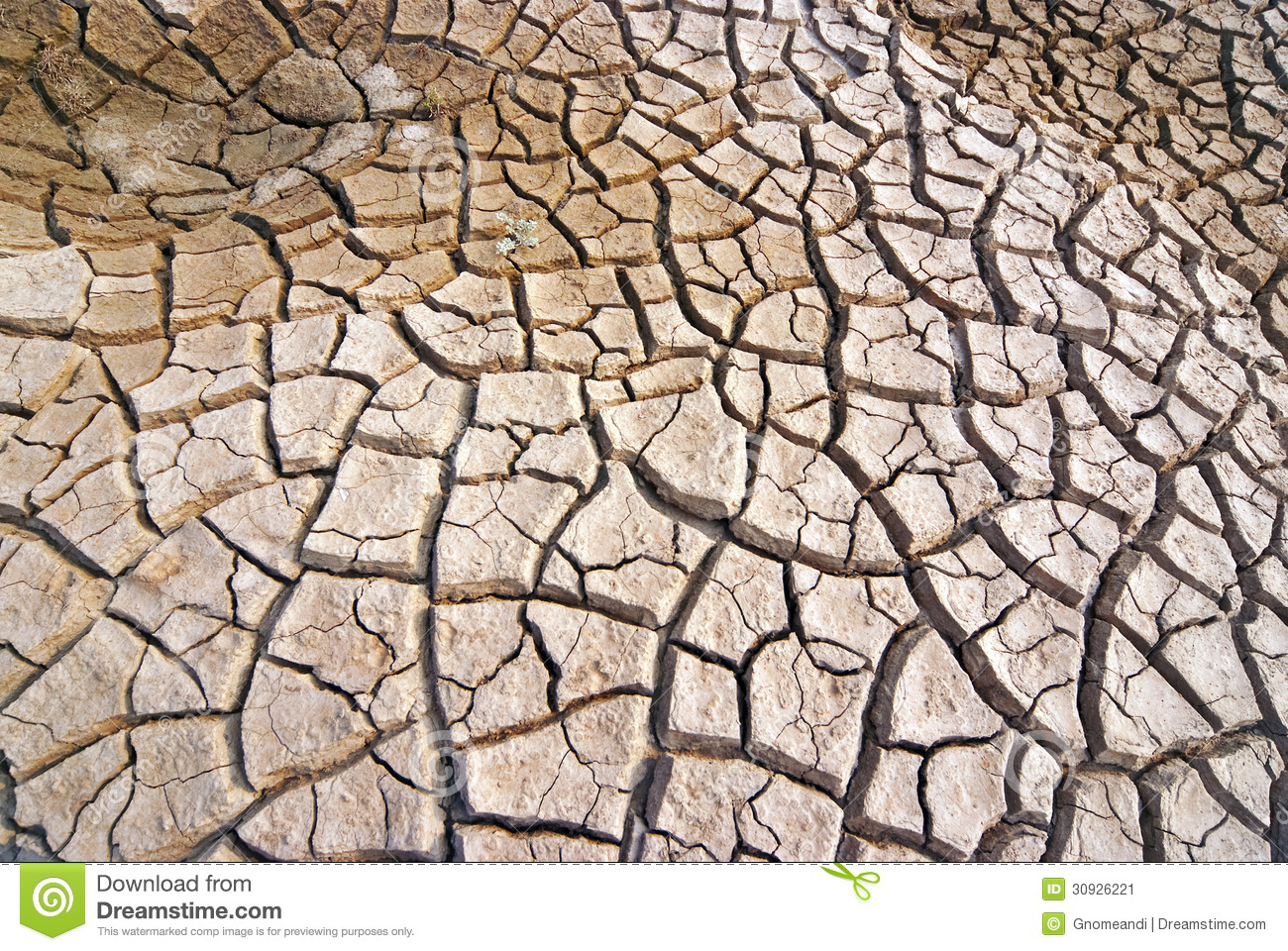 Dry And Barren Land Royalty Free Stock Photography.