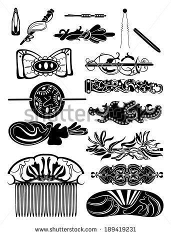 Barrette Stock Vectors, Images & Vector Art.