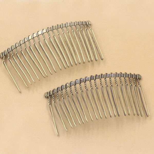 Aliexpress.com : Buy Hair Clips Side Combs Pin Barrettes 20 Teeth.