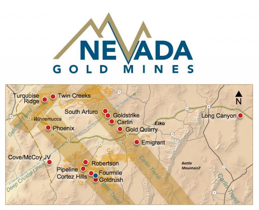 Mega mining merger complete: Barrick, Newmont now 'Nevada Gold Mines.