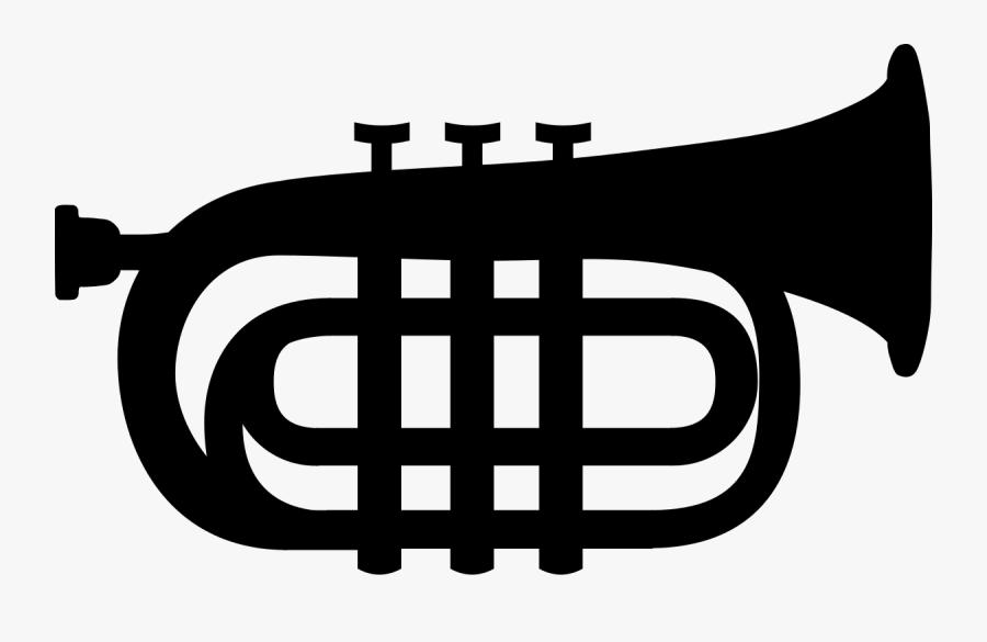 Trumpet Icon.