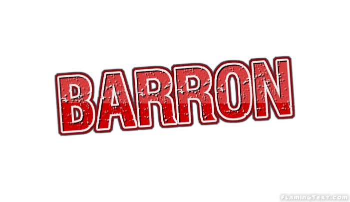 Barron Logo.