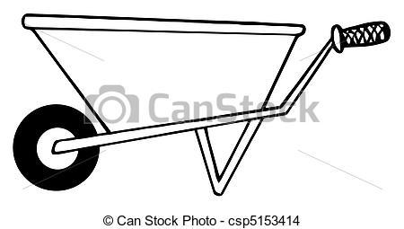 Wheel barrow Clipart and Stock Illustrations. 1,025 Wheel barrow.