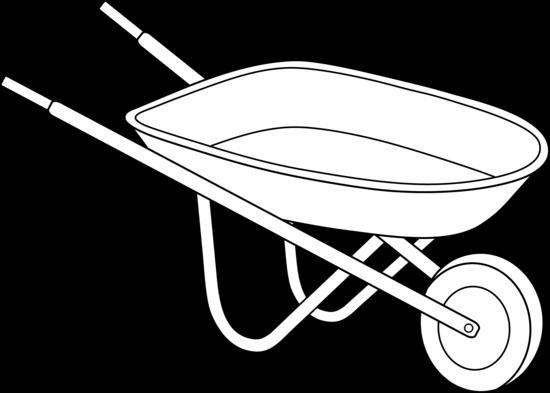 Wheelbarrow Clipart.