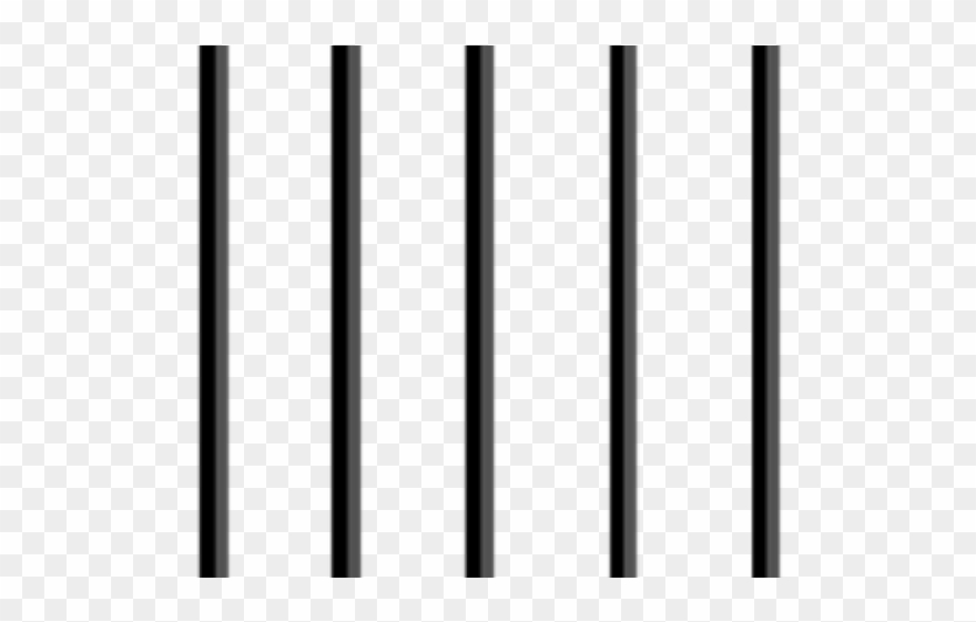 Black And White Jail Bars Clipart (#751106).