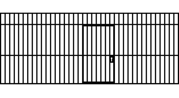 Best Prison Bars Illustrations, Royalty.