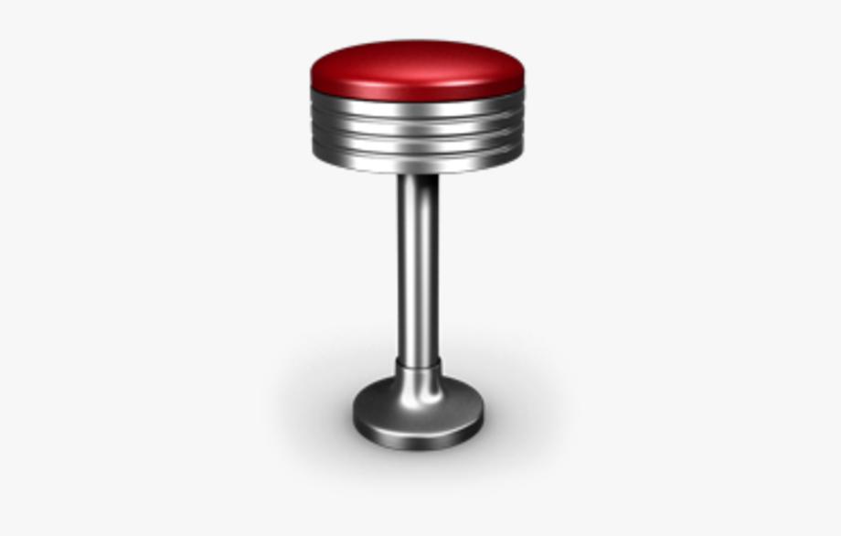 Bar Stool Icon Image.