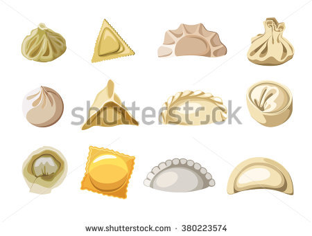 Pierogi Stock Photos, Royalty.