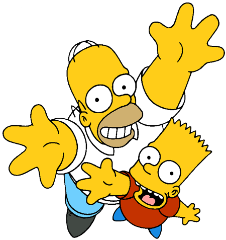 The Simpsons Clip Art Images.