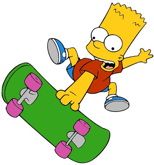 The Simpsons Clip Art Images.