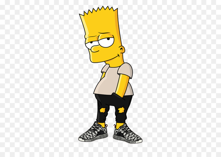 Bart Simpson Joint png download.