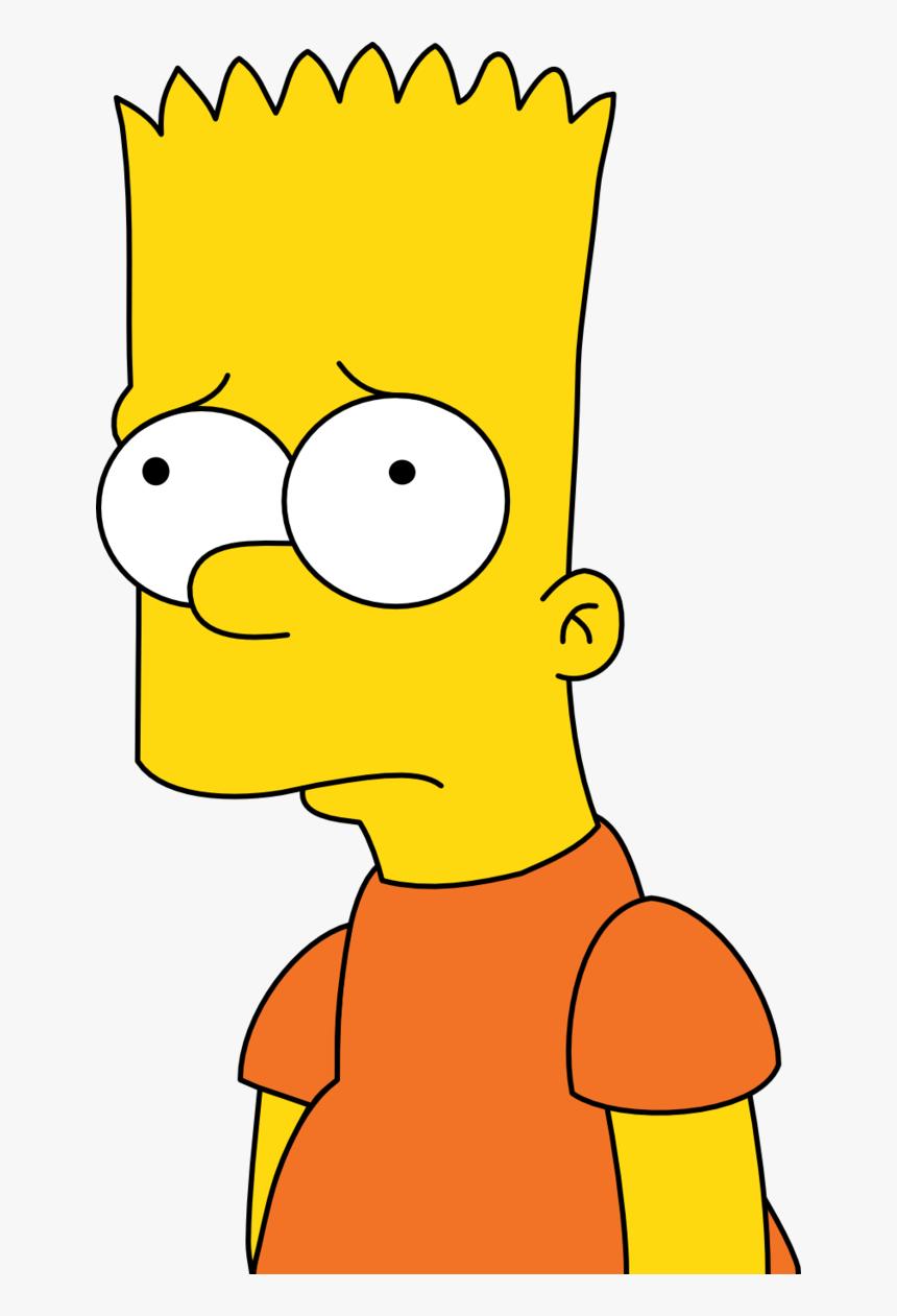Transparent Bart Simpson Png.