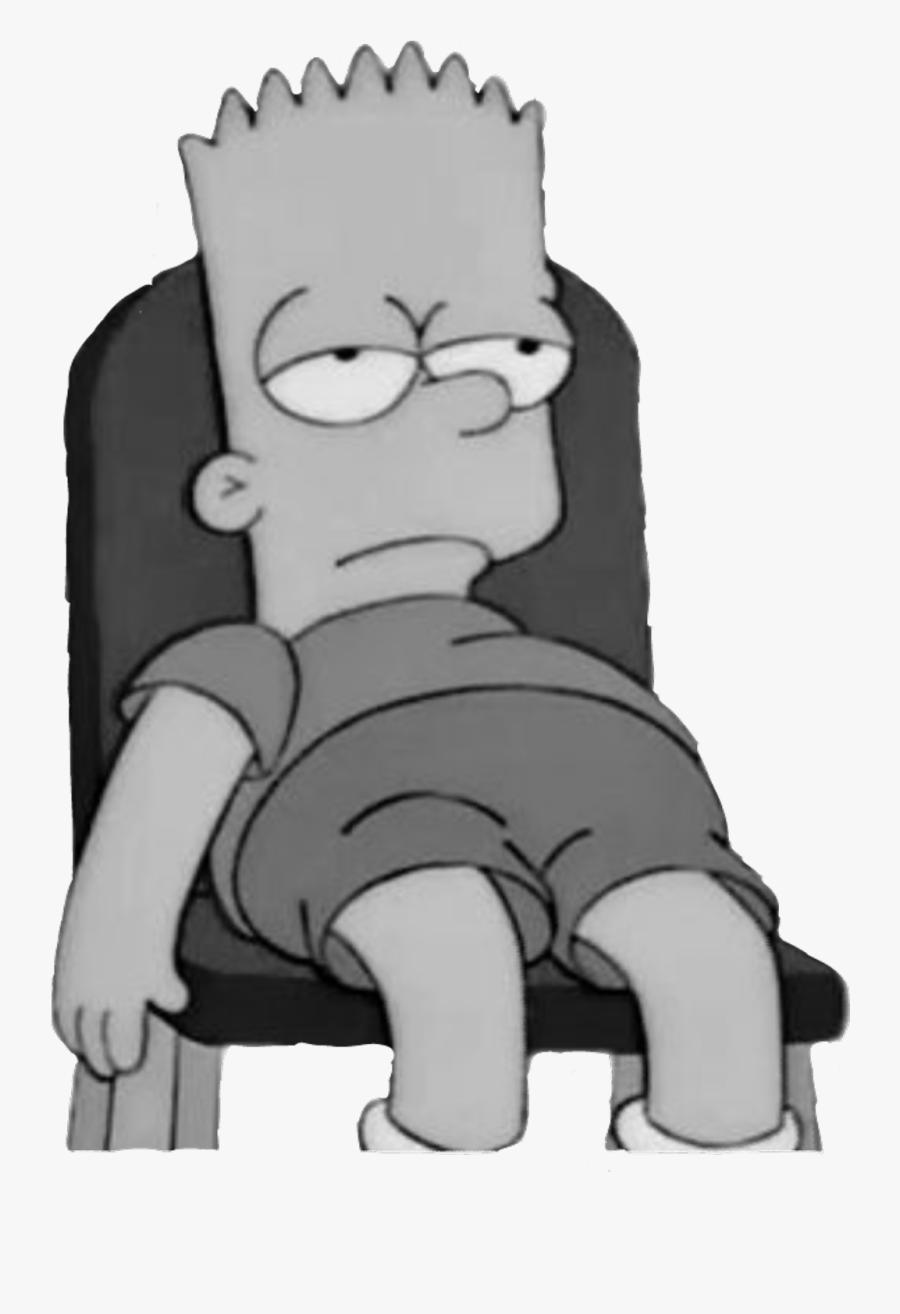 Bart Clipart Sad.