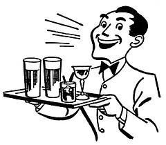 Bartender Clipart.