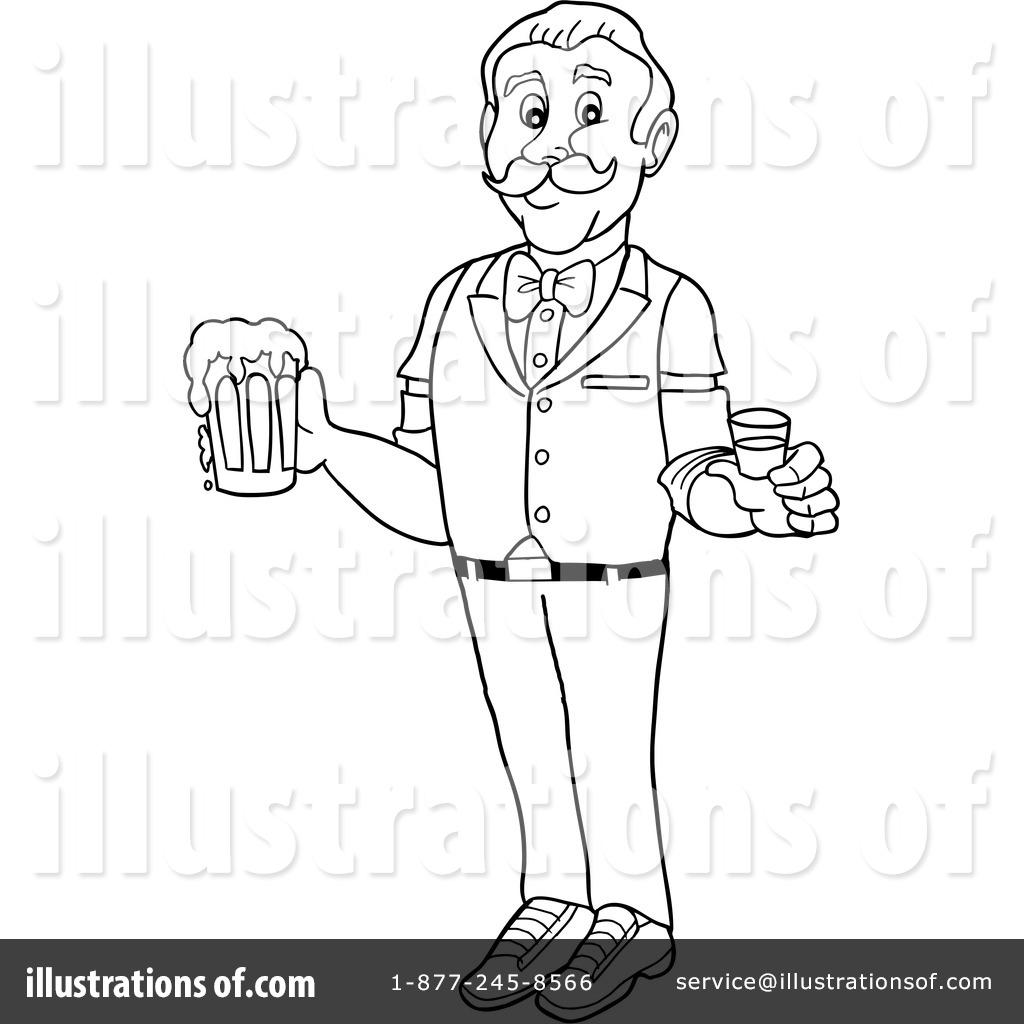 Bartender Clipart #1318397.