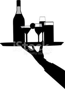bartender Clipart Image.