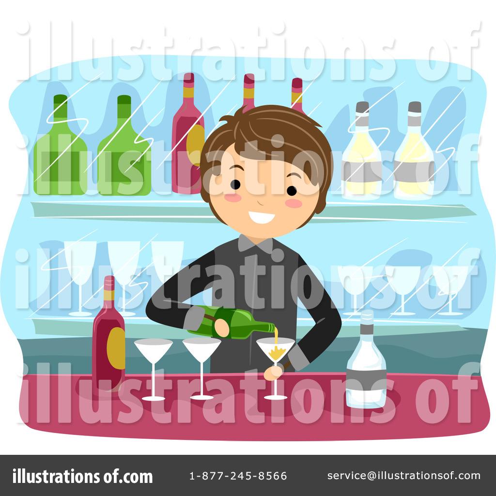 Bartender Clipart #1068560.