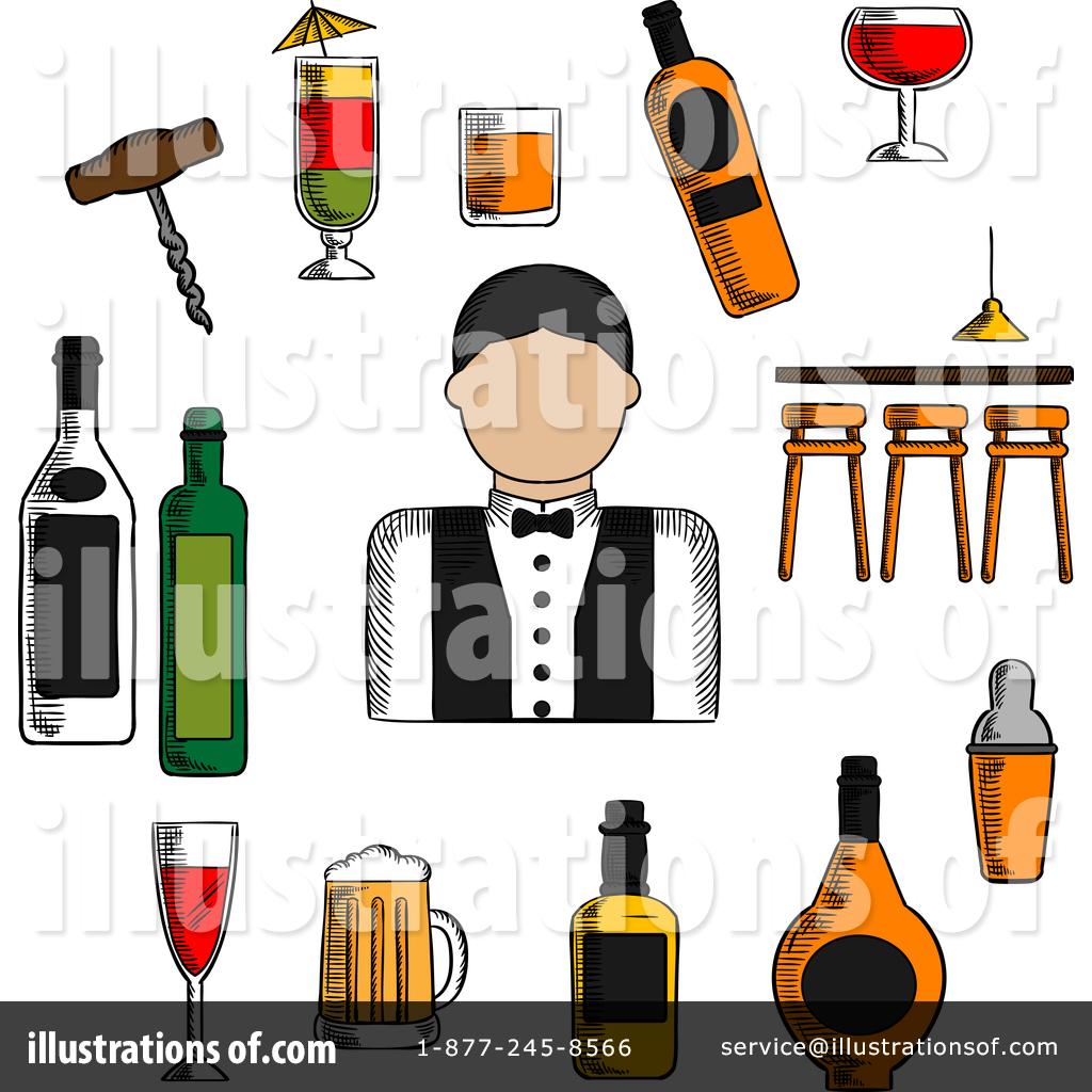 Bartender Clipart #1380831.