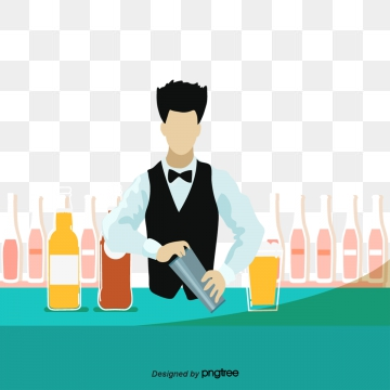 Bartending Png, Vector, PSD, and Clipart With Transparent Background.