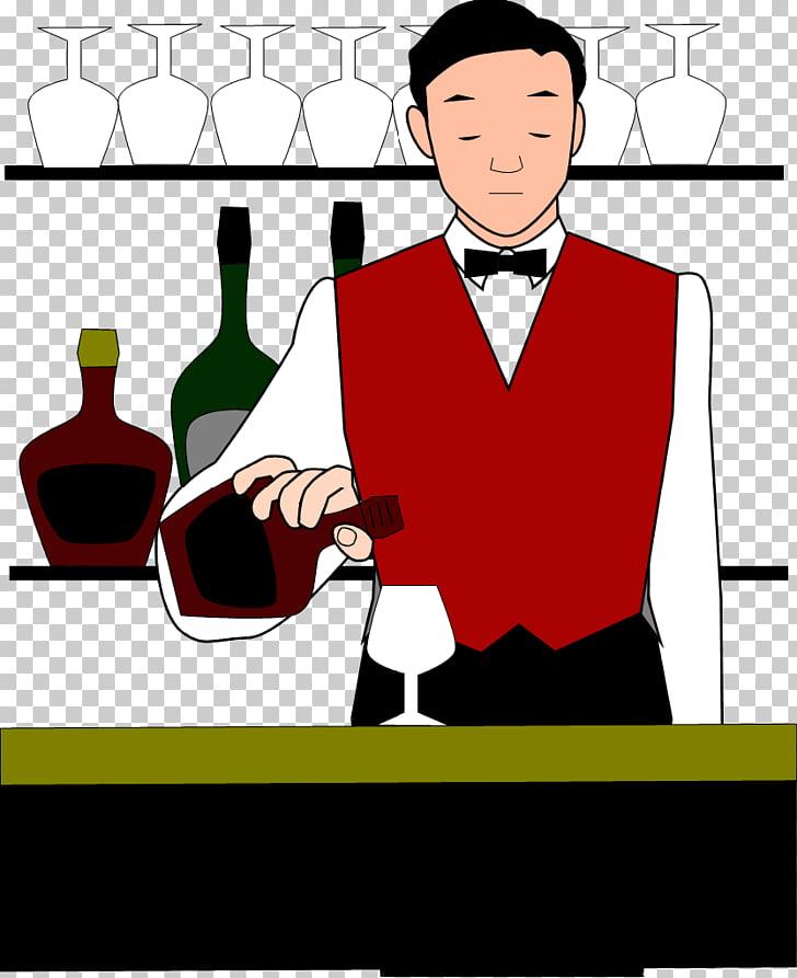 Cocktail Bartender , Bartender PNG clipart.
