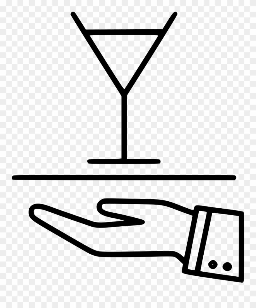 Bartender Barman Barkeeper Bar Svg Png Icon.