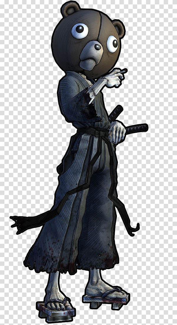 Afro Samurai 2: Revenge of Kuma Bartholomew Kuma Drawing.