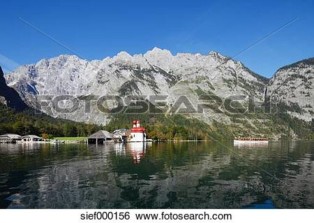 Stock Images of Germany, Bavaria, Upper Bavaria, Berchtesgaden.