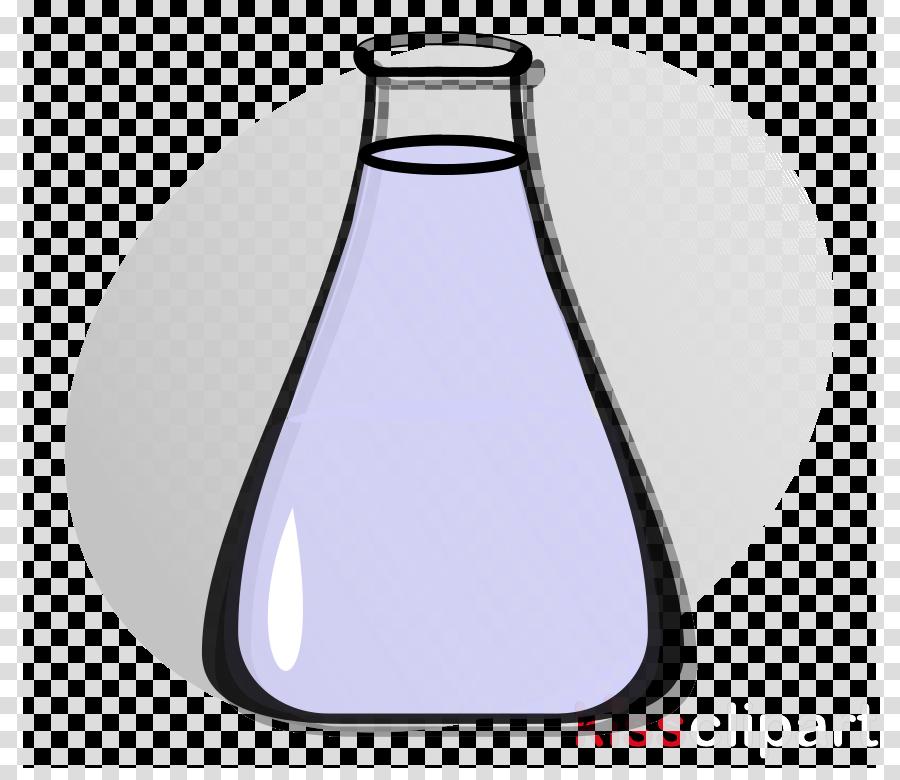 glass glass bottle laboratory flask bottle barware clipart.