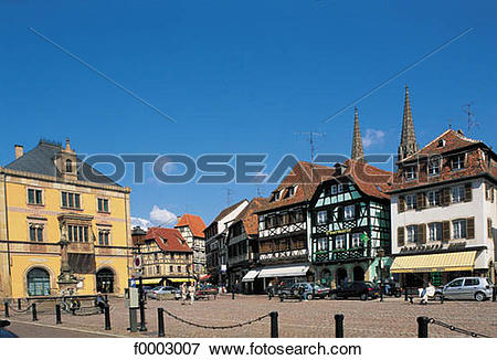 Picture of square, house, traditional architecture, traditional.