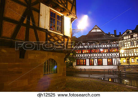 Stock Image of France, Alsace, Bas.