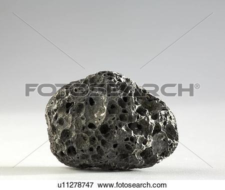 Picture of Basalt lava rock u11278747.