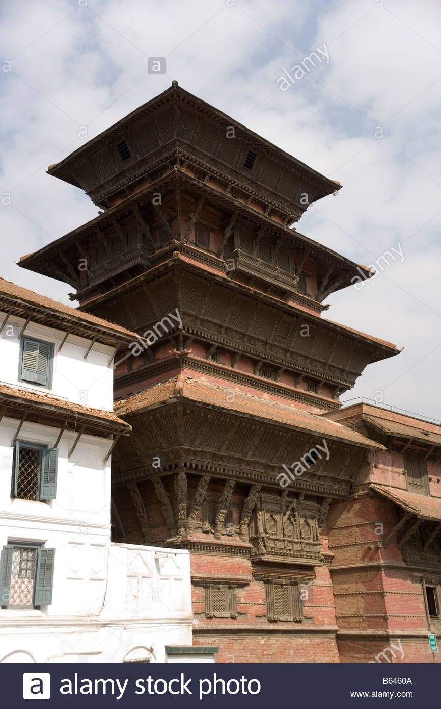 Basantapur (Kathmandu) Tower, Nepal 2019.