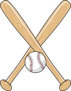 Free clipart baseball bat.