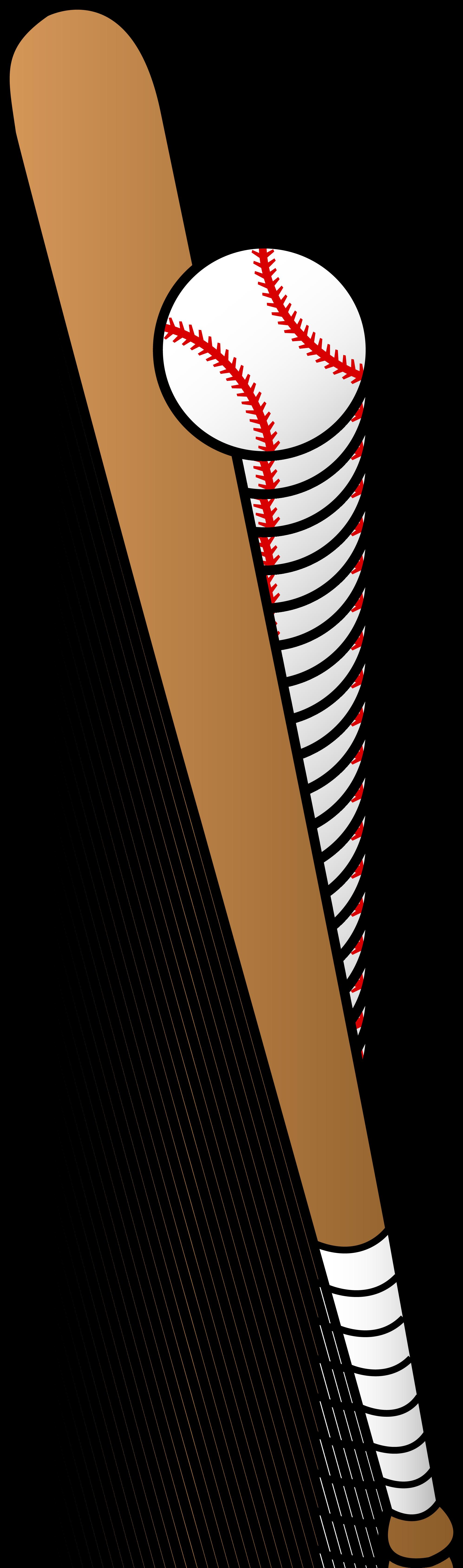 Baseball bat clip art.