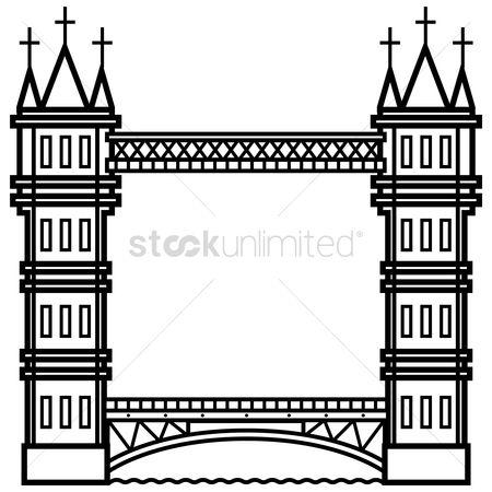 Free Bascule Bridge Stock Vectors.