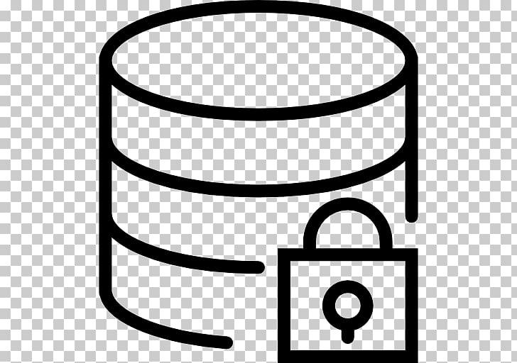 Servidor de base de datos iconos de la computadora.