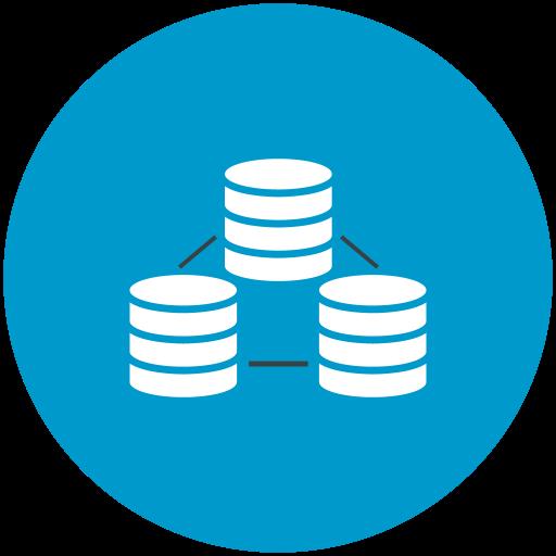 Icono Los datos de conexion, bases de datos Gratis de Web Hosting.