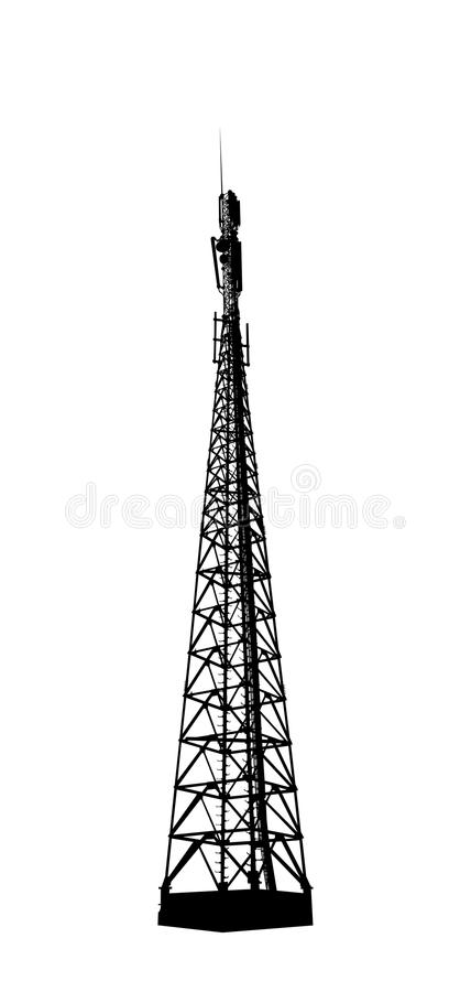 Base Station Stock Illustrations.