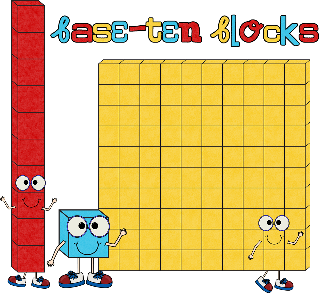 Base Ten Blocks Clip Art (93+ images in Collection) Page 2.