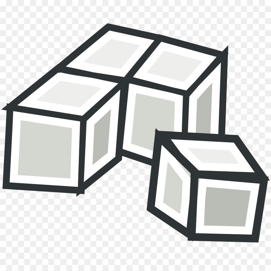 Base Ten Blocks Square png download.