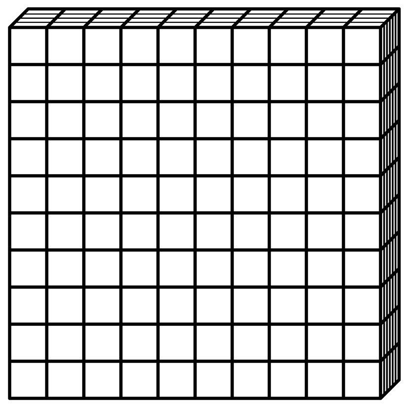 Free Math Clipart Base Ten Blocks.