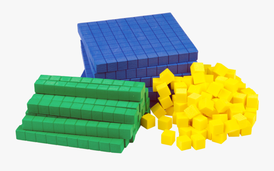 Base Ten Blocks Transparent , Free Transparent Clipart.