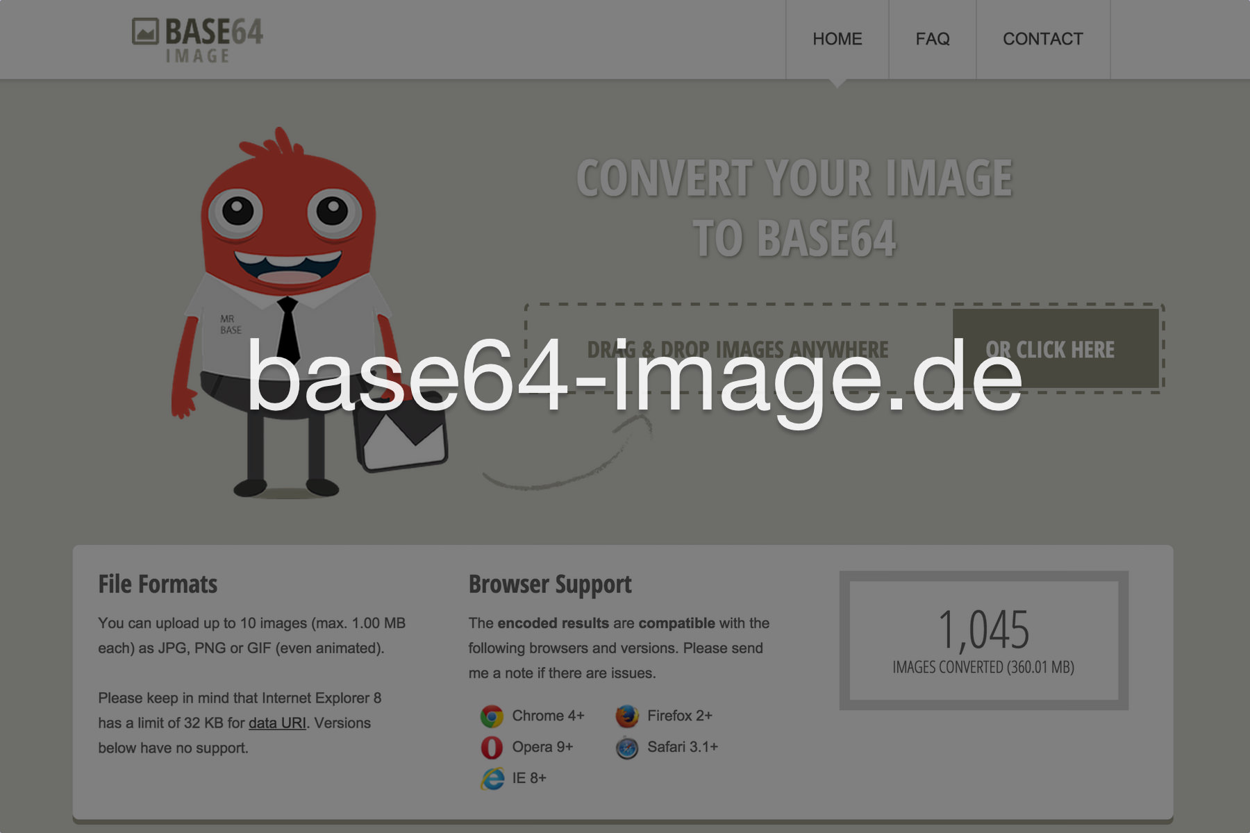 Base64 Image Encoder.