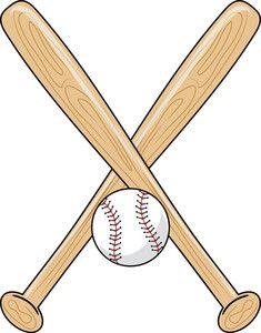 baseball bat clipart.