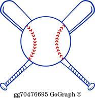 Baseball Bats Clip Art.