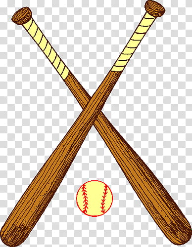 Baseball And Bats transparent background PNG clipart.
