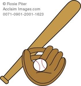Baseball and bat clipart 2 » Clipart Portal.