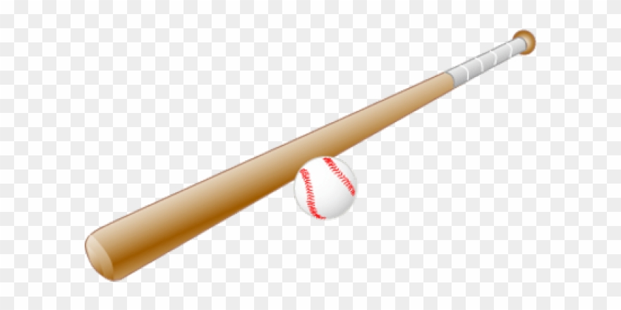 Baseball Bat Clipart Clear Background.