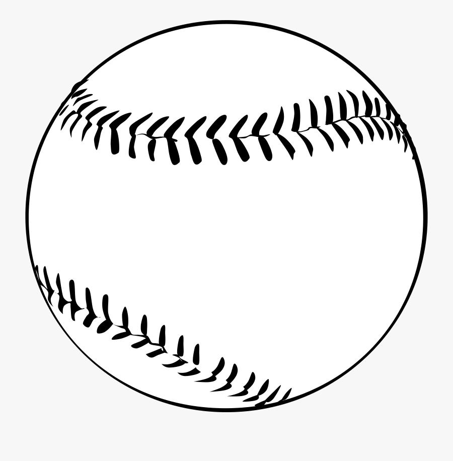 Baseball Clipart Black And White.