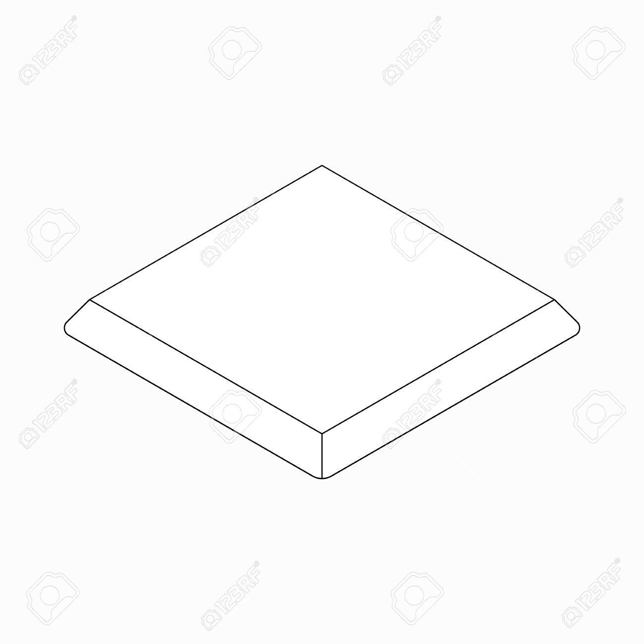 Baseball base icon, isometric 3d style » Clipart Portal.
